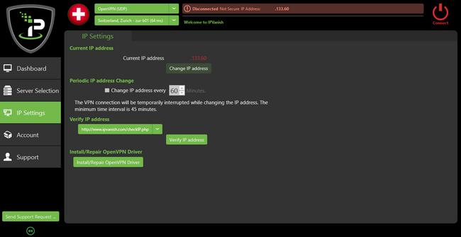 IPVanish - Configuration