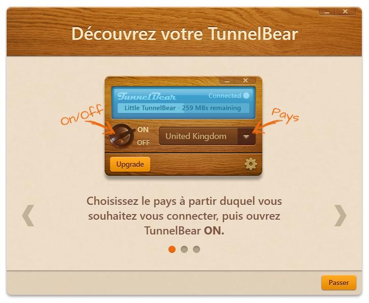VPN Gratuit: TunnelBear