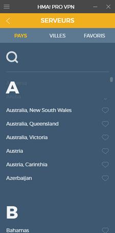 HideMyAss Australie