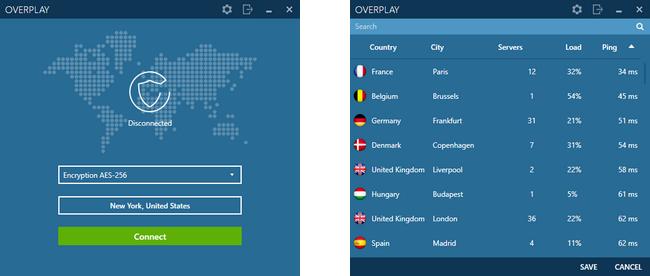 OverPlay - VPN
