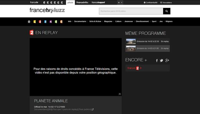 FranceTV Pluzz Avant - Sans VPN