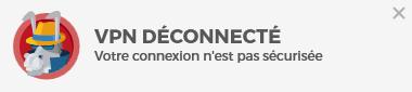 VPN déconnecté