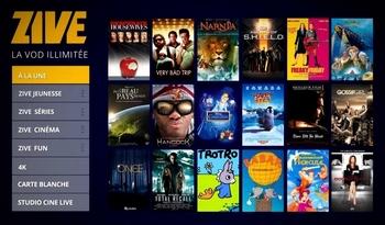 Débloquer Zive / SFR Play VOD (regarder depuis l'étranger)