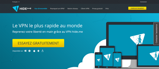 Hide Me - Site Officiel