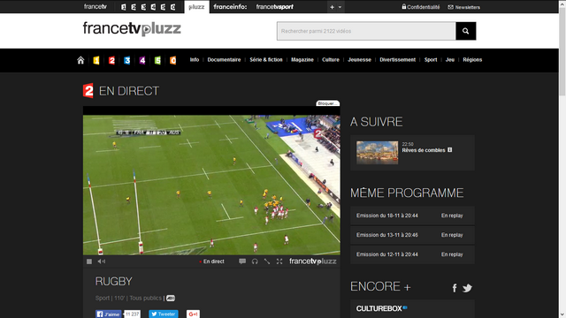 FranceTV Pluzz - Après (Avec Smart DNS Proxy)