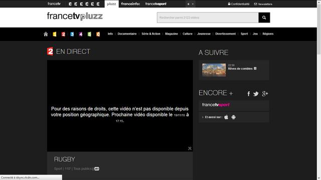 FranceTV Pluzz - Avant (Sans Smart DNS)
