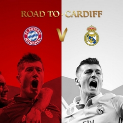 Regarder Bayern Munich - Real Madrid en quart de finale de la Ligue des Champions 2016/2017 aller et retour en streaming