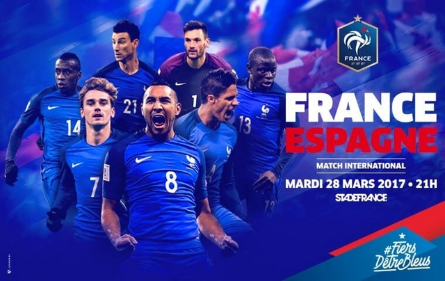 Regarder France - Espagne (match amical 2017) en streaming