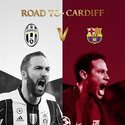 Regarder Juventus - FC Barcelone en quart de finale de la Ligue des Champions 2016/2017 aller et retour en streaming