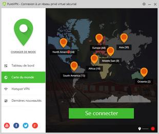 PureVPN - Serveurs VPN