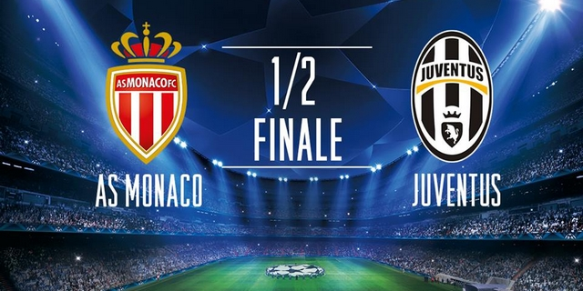 Regarder Monaco - Juventus (demi-finale Ligue des Champions 2016/2017 aller et retour) en direct en streaming