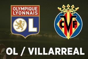 Regarder Lyon - Villarreal (16ème de finale Ligue Europa 2017/2018 aller et retour) en direct en streaming