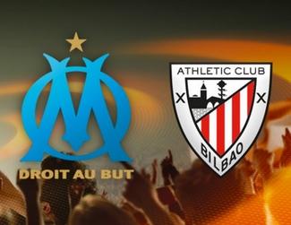 Regarder Marseille - Bilbao (8ème de finale Ligue Europa 2017/2018 aller et retour) en direct en streaming