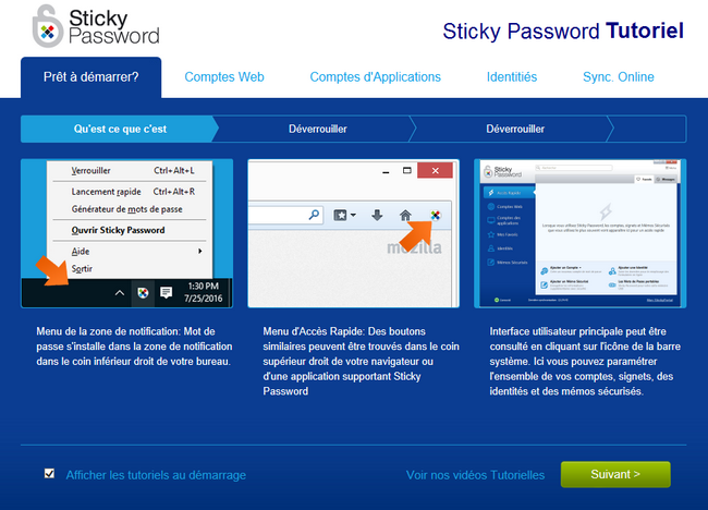 Sticky Password - Tutoriel