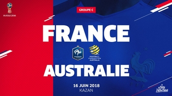 Regarder France - Australie (Coupe du Monde 2018) en direct en streaming