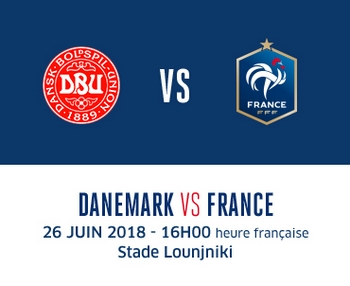 O et comment regarder france danemark coupe du monde 2018 en direct en streaming - Regarder coupe de france en direct ...