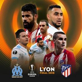 Regarder OM - Atlético Madrid en direct en streaming (finale Ligue Europa 2017/2018)