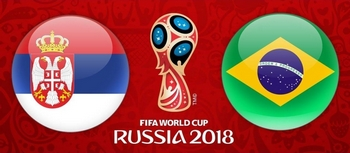 Regarder Brésil - Serbie (Coupe du Monde 2018) en direct en streaming