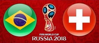 Regarder Brésil - Suisse (Coupe du Monde 2018) en direct en streaming