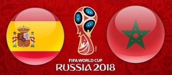 Regarder Espagne - Maroc (Coupe du Monde 2018) en direct en streaming