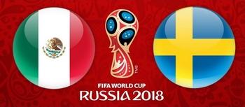 Regarder Mexique - Suède (Coupe du Monde 2018) en direct en streaming