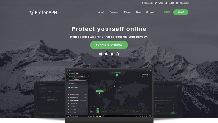 ProtonVPN - Site Officiel
