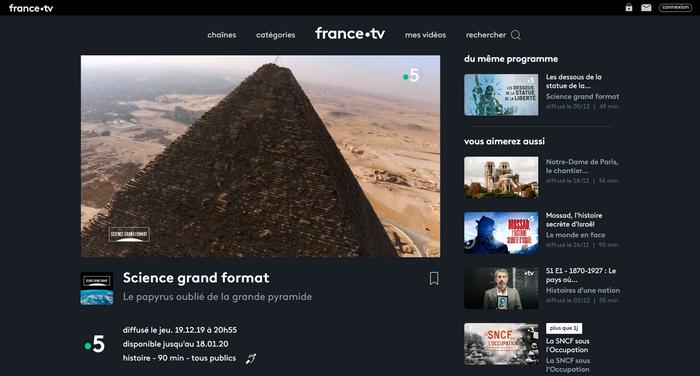 France TV Après - Avec HMA VPN