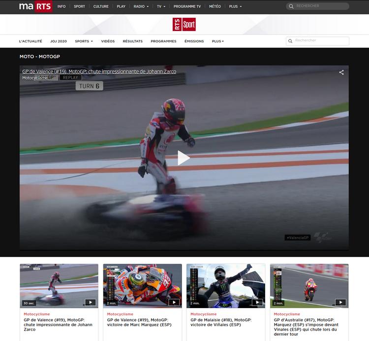 Regarder MotoGP Direct Streaming