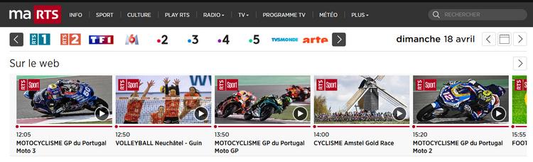 GP du Portugal sur RTS