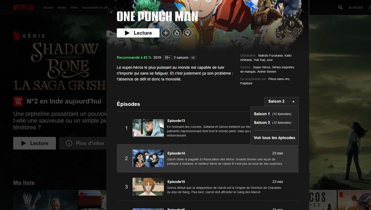 One Punch Man Saison 2